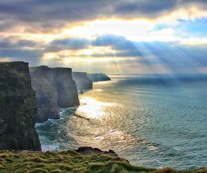 ireland, sea, and sun image