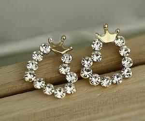 heart, earrings, and fashion image