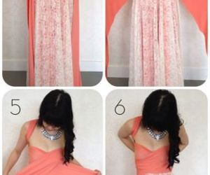 dress, diy, and tutorial image