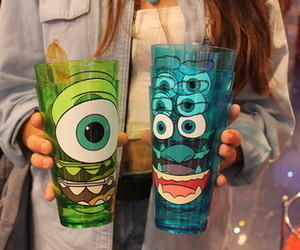 monster, cup, and cool image