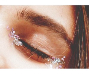 glitter, love, and girl image