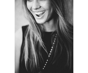 girl, pretty, and laugh image