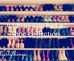 collection, shoe, and justgirlythings image