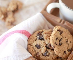 cookie, food, and oat image