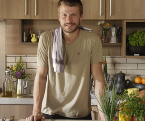 cooking, handsome, and lindo image