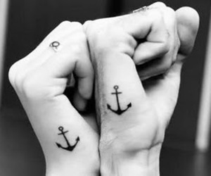 anchors, beautiful, and tattoo image