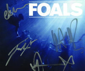autographed, cd, and foals image