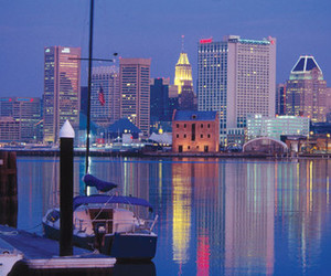 baltimore, maryland, and downtown image