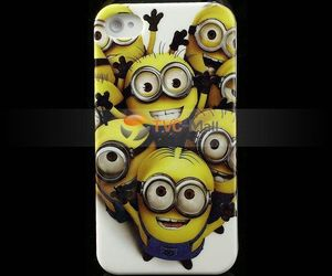 minions, cute iphone case, and minions case image