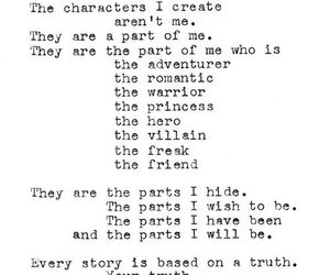 writer, quotes, and character image