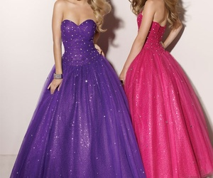 ball gown, dress, and halloween dress image