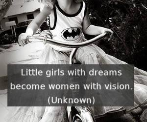 Dream, quote, and woman image