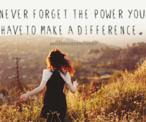 difference, power, and quotes image