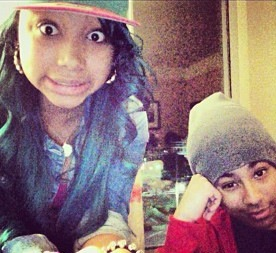 Princeton With Star From The OMG Girlz