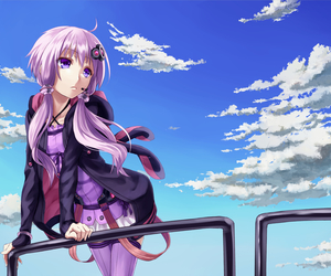 anime, sky, and vocaloid image