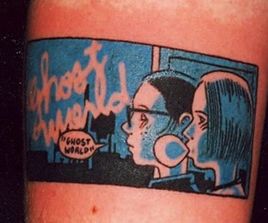 ghost world, tattoo, and enid coleslaw image