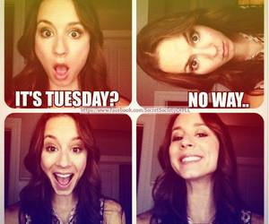 tuesday, pretty little liars, and pll image