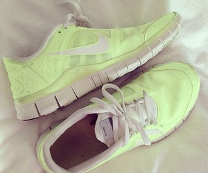 nike, shoes, and workout image