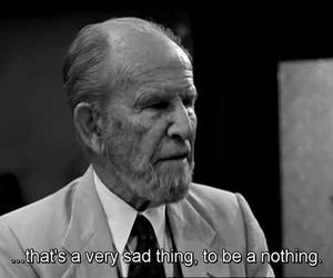 black and white, movie quotes, and depression quotes image