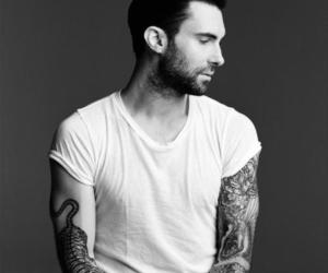 adam levine, maroon 5, and tattoo image