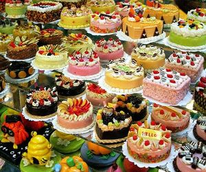 cake, food, and sweet image
