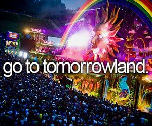 Tomorrowland, party, and Dream image