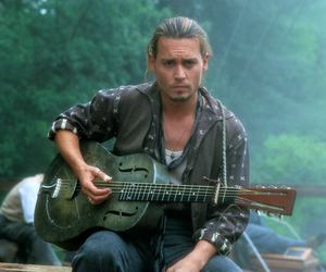 johnny depp, chocolate, and Hot image