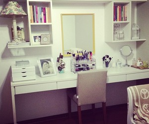dressing table, make, and maquiagem image