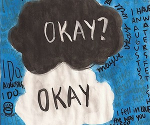 the fault in our stars, okay, and john green image