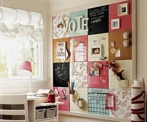 room, diy, and pink image