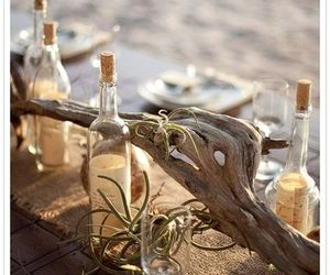 boho, indie, and tablescape image