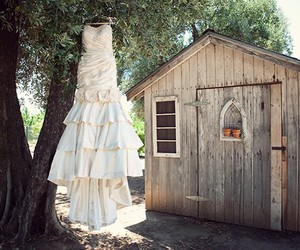 cottage, hanger, and dress image