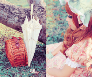bonnet, lolita, and photography image