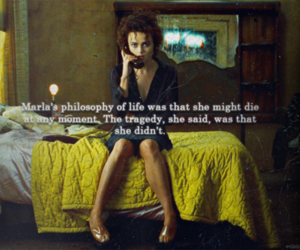 fight club, Marla, and quote image