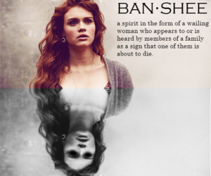 banshee, teen wolf, and lydia martin image
