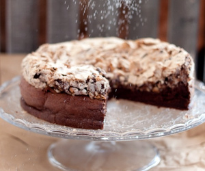 almond, bakery, and chocolate image