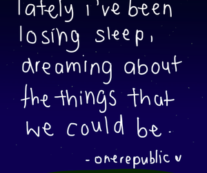 counting stars, one republic, and sleep image