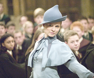 harry potter, fleur delacour, and book image