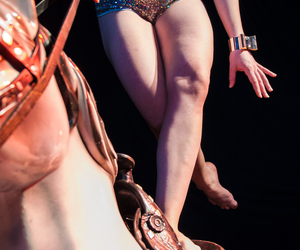 circus, glitter, and legs image