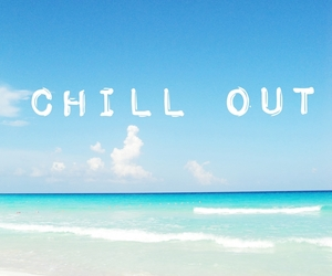beach, chill out, and summer image