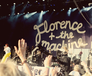 concert, florence and the machine, and music image