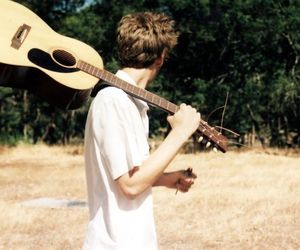 guitar and boy image
