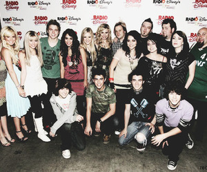 miley cyrus, emily osment, and mitchel musso image
