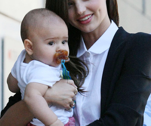miranda kerr, mother and son, and flynn bloom image