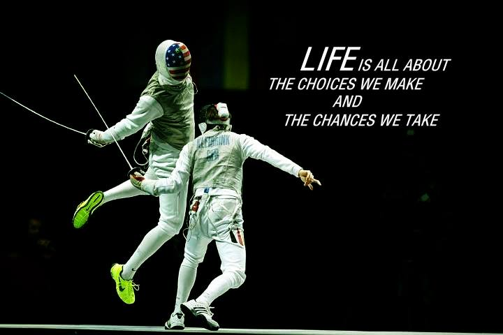 Fencing Quotes Adorable 35 Images About I Am In Love With Fencing On We Heart It  See