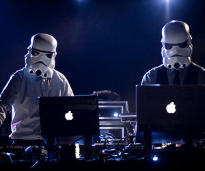 photography, dj, and star wars image