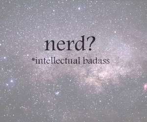 nerd and text image