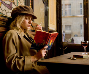 inglourious basterds, melanie laurent, and book image