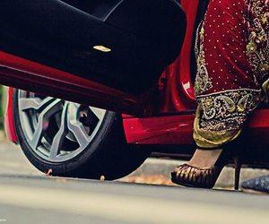 cars, heels, and luxury image