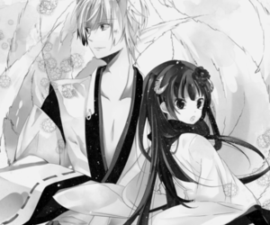 anime, inu x boku ss, and couple image